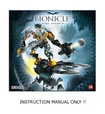 (Instructions) for Lego Set 8697 - Toa Ignika - Instructions Only