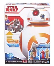 Star Wars BB-8 2 in 1 Mega Playset w Force Link & 2 Figures Snoke NEW