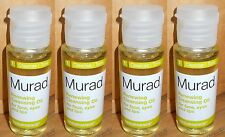 4-Murad Renewing Cleansing Oil for Face Eyes & Lips 1 oz x 4