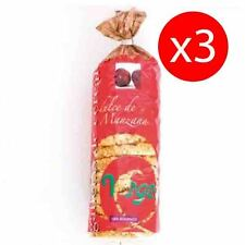 Pack 3 units Pancakes rice with apple ecological bio 250 g ALIMENT VEGETAL