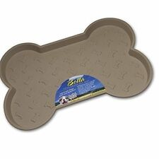 Loving Pets Bella Spill-proof Pet Mat for Dogs Small Tan - Spillproof Dog