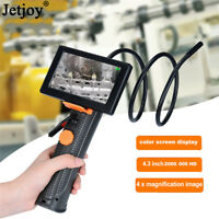 HD LCD Waterproof Borescope Industrial Video Inspection Camera Snake Endoscope
