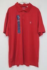 IZOD Performance Short Sleeve Polo Shirt - Mens 3XL - Polish Red - NWT