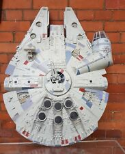 100% COMPLETE STAR WARS LEGACY MILLENNIUM FALCON with extras LIGHTS & SOUNDS