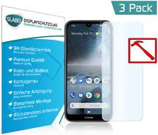 """3 x Slabo PREMIUM Panzerglasfolie für Nokia 4.2 KLAR """"Tempered Glass"""" 9H"""