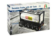 ITALERI Tecnokar Trailer with 20' Tank Nr.: 3929 1:24