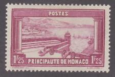Monaco 1932-37 #121 Fortifications and Harbor - MH