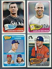 Complete Finish Your 2012 2013 2014 2015 Topps Heritage Base Set 1-425 Pick 40