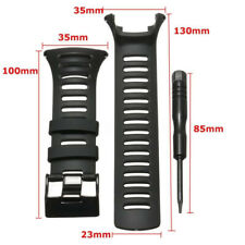 1pcs Rubber Watch Strap Band Replacements For SUUNTO AMBIT2 S RED/AMBIT3 SPORT