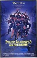 POLICE ACADEMY 2: THEIR FIRST ASSIGNMENT Movie POSTER 11x17 Steve Guttenberg