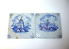 Two Tiles 18-19 Century