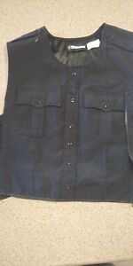 Used BLAUER 8470 WOOL ARMORSKIN VEST OUTER ARMOR CARRIER DARK NAVY L Tall