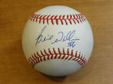 Signed BERNIE WILLIAMS Baseball NY Yankees Bobby Brown American League