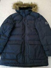 "Men's JACK WOLFSKIN padded hooded down parka/jacket/coat size 34"" small standard"