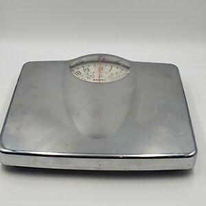 Chrome Vintage Salter Bathroom Scales