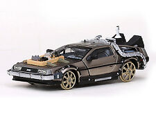 Ritorno Al Futuro 3 - Back To The Future Part III Railroad Delorean 1:43 Model