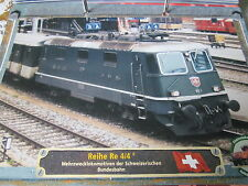 Lokarchiv E- Loks Reihe Re 4/4.II ÖBB 1964