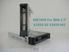 "New 00E7600 2.5"" SAS/SATA Drive Caddy Tray Sled 4 IBM X3100 X3250 X3550 X3650 M5"