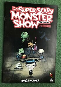 The Super-Scary Monster Show featuring Little Gloomy #1 Slave Labor Modern vf
