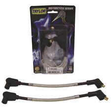 Taylor Spark Plug Wire Set 14035; Full Metal Jacket 8mm for Harley-Davidson