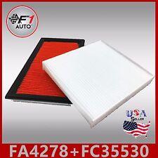 FA4278 FC35530 PREMIUM ENGINE & CABIN AIR FILTER for 02-06 ALTIMA & 00-06 SENTRA