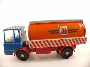 MS  25 GDR camion citerne friction en tôle tintoy 23 cm version rare