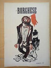 1954-IL BORGHESE-Direttore LEO LONGANESI-Anno V, Numero 12