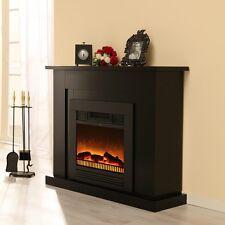 Elektrokamin Shadow Classic Fire Flammeneffekt schwarz Seidenmatt 2411.068A