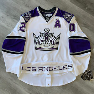 Authentic Luc Robitaille Los Angeles Kings Jersey 56 Reebok Edge New