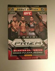 2021 PANINI PRIZM UFC DEBUT EDITION Sealed Retail BLASTER BOX (6 Packs)