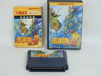 SANGOKUSHI II 2 HAOH NO TAIRIKU Ref/1115 Famicom Nintendo Japan fc