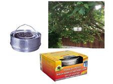 Metalltopf Halter Silber für Anti Mückenspirale wie Tontopf +10 Spiralen