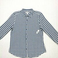 Goodthreads women's flannel slim fit shirt NEW size large long sleeve button dow