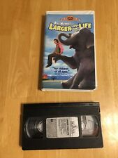 Larger Than Life 1996  VHS Bill Murray Previewed Preowned
