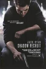 Jack Ryan: Shadow Recruit Original D/S Movie Poster 27x40 NEW 2014 Chris Pine