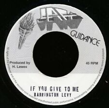 """NEW 7"""" Barrington Levy - If You Give To Me  /  Roots Radics - Version"""