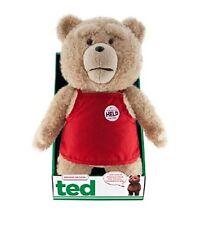 """NUOVO Ufficiale 16"""" TED 2 Rosso Grembiule in movimento esplicita parlare Peluche Bear R-Rated"""