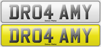 DR04 AMY -NUMBER PLATE DR AMY, DR TAMMY DR TAMY REGISTRATION PLATE FEES INCLUDED