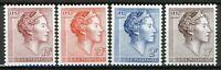Luxembourg 1961, Grand Duchess Charlotte set VF MNH, Mi 643-646 cat 4,20€