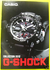 Casio G-Shock 2012 Collection Book Watch Catalog