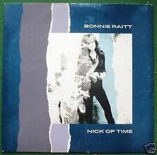 "Bonnie Raitt Nick of Time 12"" Single"