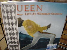 QUEEN Live at Wembley Stadium 86 REPLICA TO THE ORIGINAL LP Sealed JAPAN OBI CD