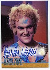 Star Trek Charles Napier A81 Mint Autographed Card 1998 TOS S3 Adam