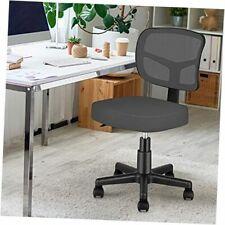 New Listingarmless Task Office Chair Small Desk Chair With Mesh Lumbar Grey