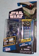Star Wars The Clone Wars 2011 CW46 Aqua Battle Droid Action Figure Hasbro MOSC