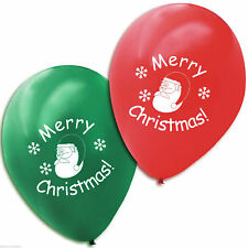 Christmas Round 10-50 Party Balloons