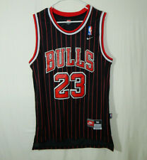 NWT Michael Jordan Chicago Bulls NBA Basketball Jersey Black Red Nike MEDIUM