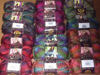 Lion Brand Unique Yarn, Lot of 3, You Choose Color, 3 oz ea