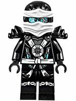 Genuine Ninjago Zane Deepstone Armor Possession Mini Figure  njo151 set 70737