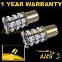 2X 581 BAU15S PY21W XENON AMBER 48 SMD LED REAR INDICATOR LIGHT BULBS RI202402